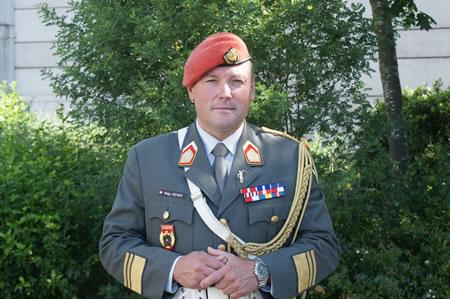 Herresmusikchef Mag. Bernhard HEHER