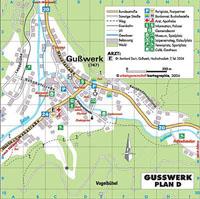 Stadtplan Gußwerk