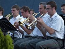 Schweiger Andreas als Gastmusikant bei der Gardemusik Wien