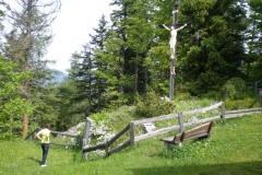 Bürgeralpe Gipfelkreuz