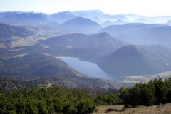 Gemeindealpe - Blick Richtung Erlaufsee und Mariazell