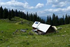 Wanderung Tonion - Tonionhütte