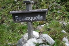 Wanderung Tonion - Paulaquelle