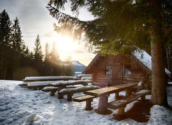 Holzknechthütte - Foto: Mariazeller Bürgeralpe - Seilbahnbetriebs GmbH