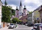 Basilika Mariazell - Blick von der Grazerstraße