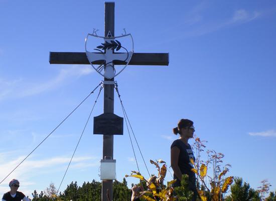 Zellerhüte Gipfelkreuz