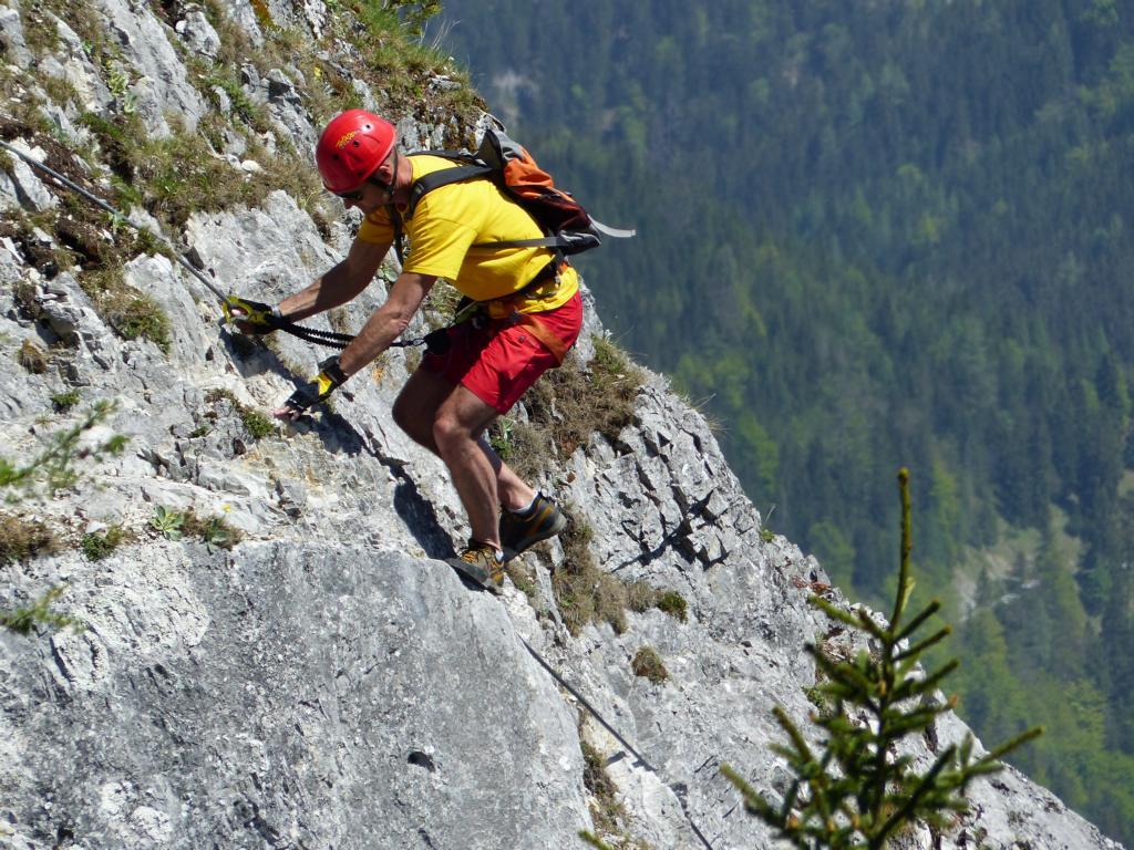 Klettersteig Himmelsleiter : Bergfex gosau laserer alpin klettersteig tour