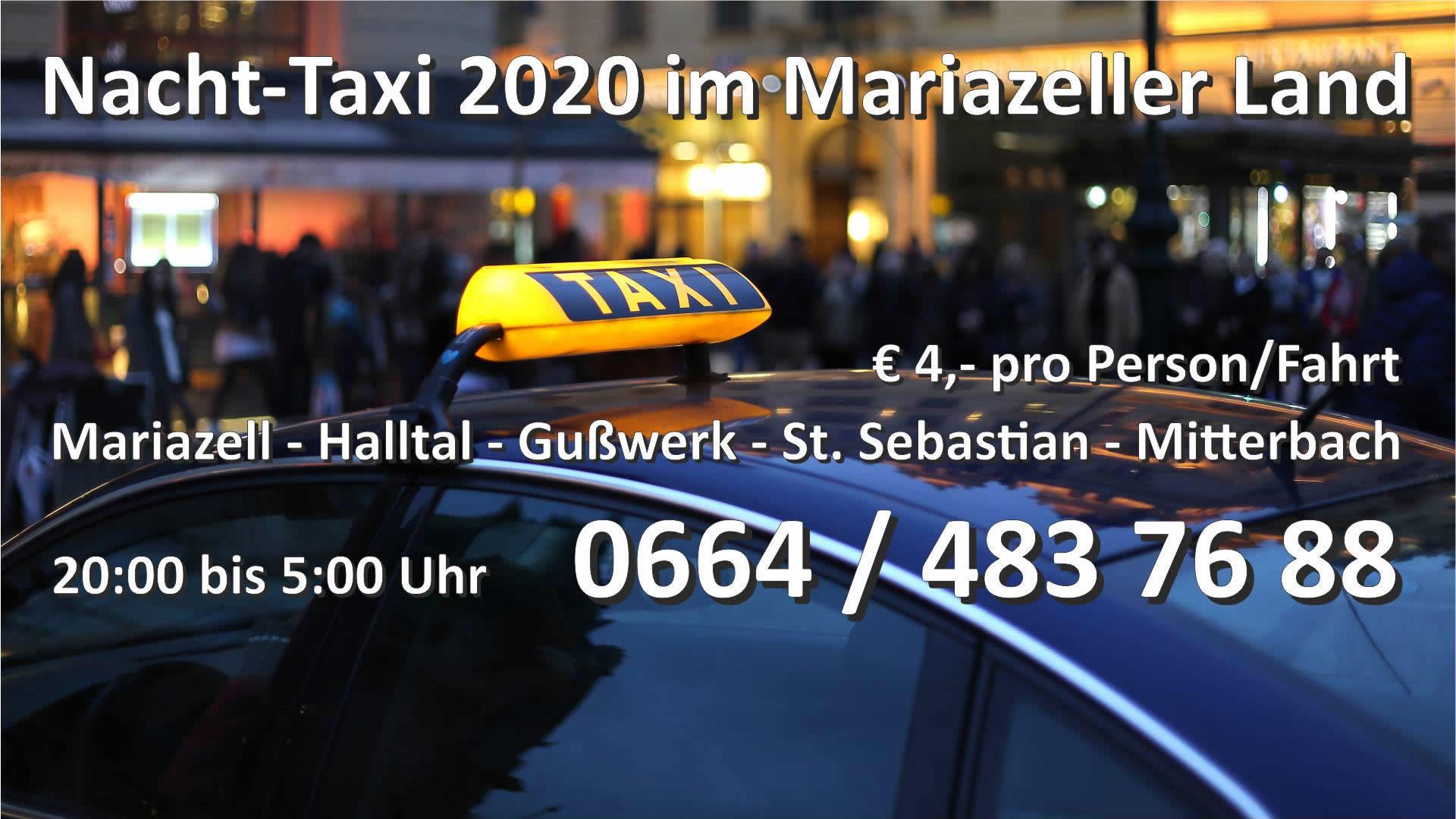 Nacht-Taxi – Betrieb eingestellt