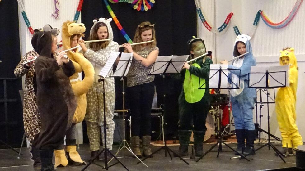 Faschingskonzert - Foto: Musikschule Mariazell