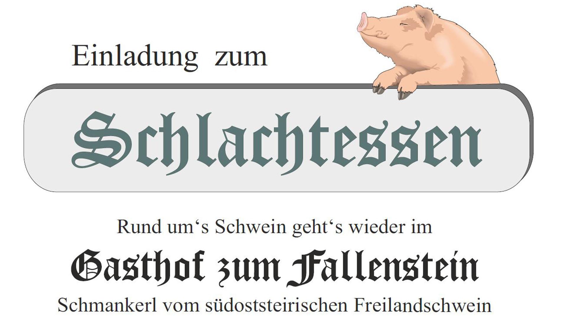 Schlachtessen Stromminger, Bild: Mariazell Online