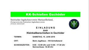 KK Schießen Gschöder, Foto: Mariazell Online