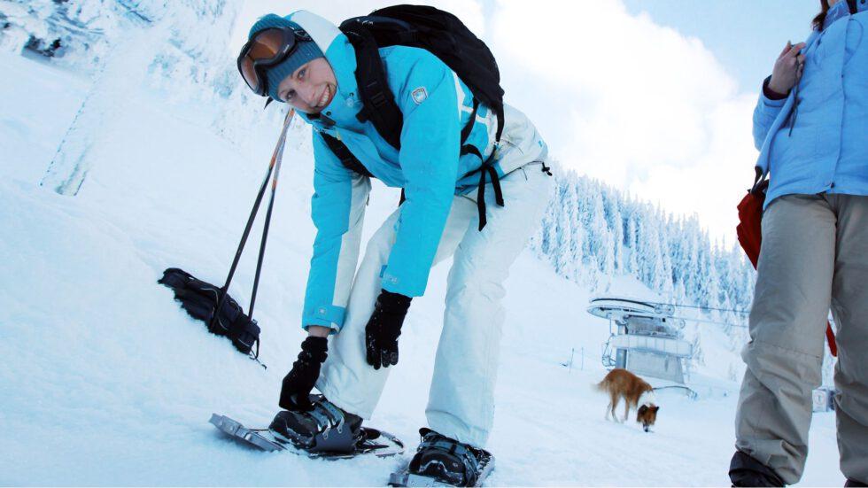 Schneeschuhwandern - Foto: Mostviertel Tourismus, (c) weinfranz