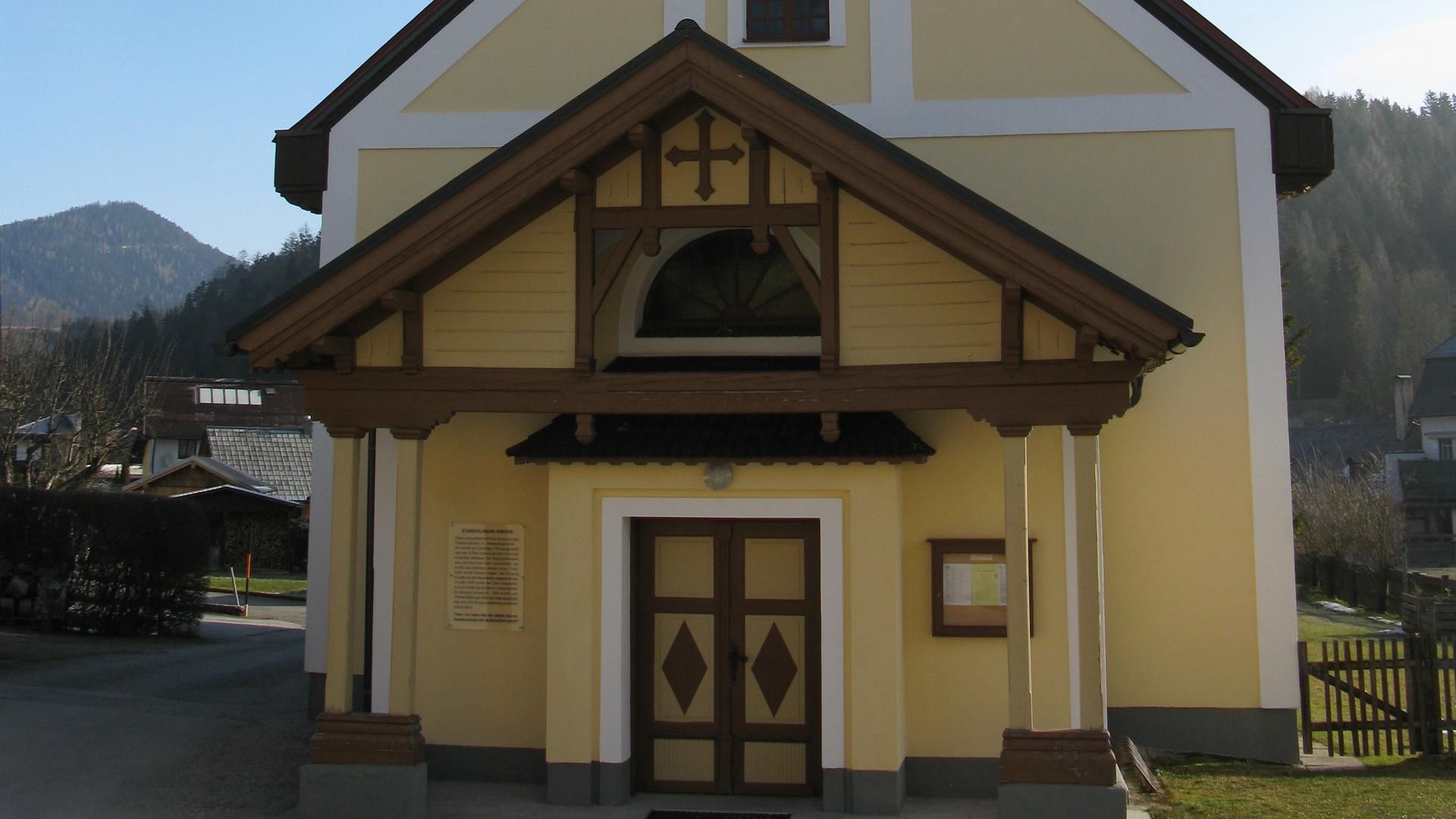 Evang. Kirche Mitterbach, Foto: Mariazell Online