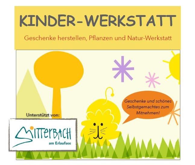 Kinder-Werkstatt, Foto: Petra Rauscher-Montano