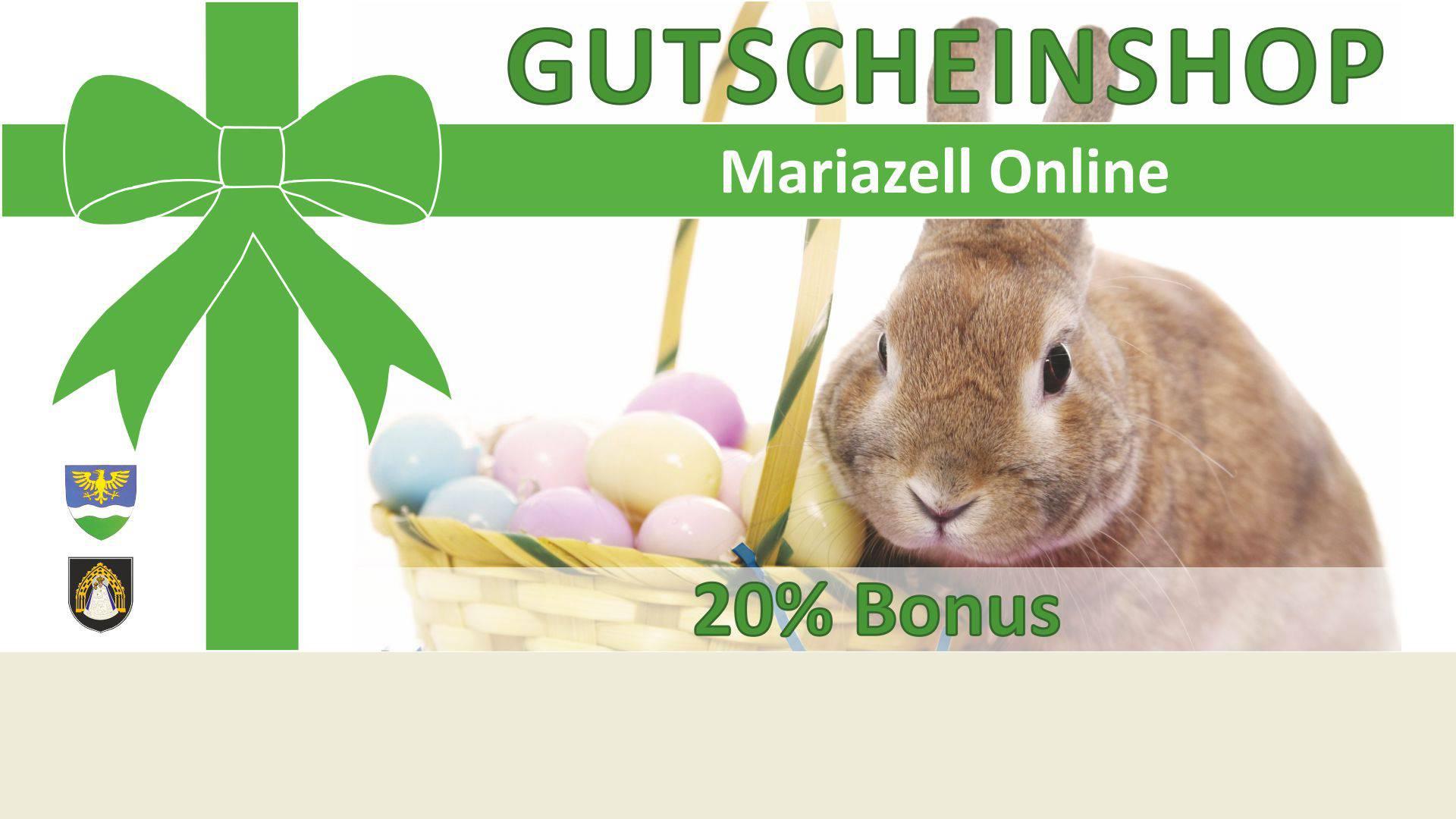 Mariazell Online Gutschein-Shop – Jetzt mit 20% Bonus