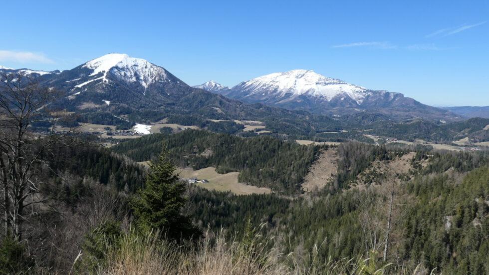 Ausblick vom Sonneckgipfel - Foto: Alpenverein Mariazellerland