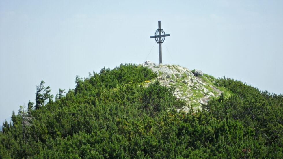 Gipfelkreuz auf der Gemeindealpe - Foto: Mariazell Online